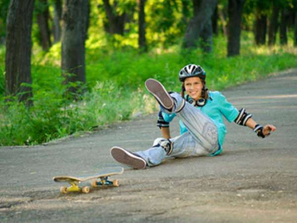 Accidentes de Skateboarding