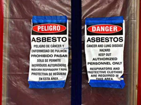 Second Hand Asbestos Exposure