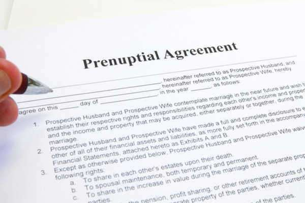 Post Nuptial Agreement Vs Prenuptial Agreement  Contract Law