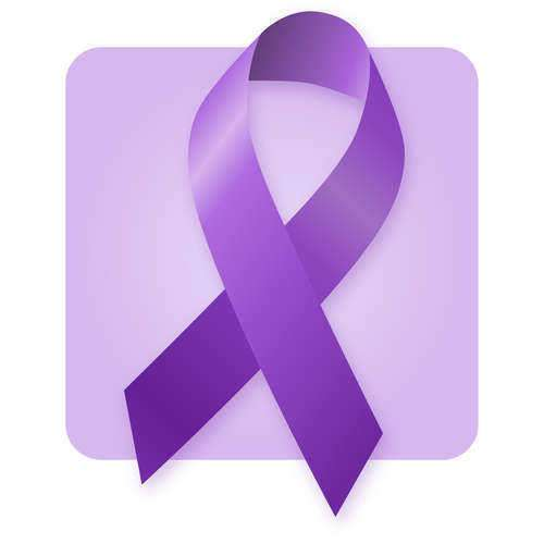 Wear A Ribbon for Domestic Abuse Awareness