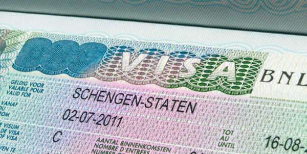Necessary forms for a travel visa