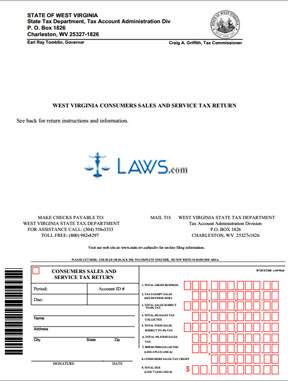 Form CST-200 Consumer Sales and Service Tax Return
